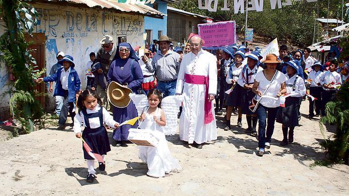 Barreto, el pastor peruano