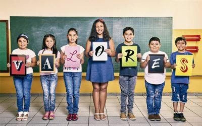 Fe y Alegría trabaja por #MásEducaciónConValores